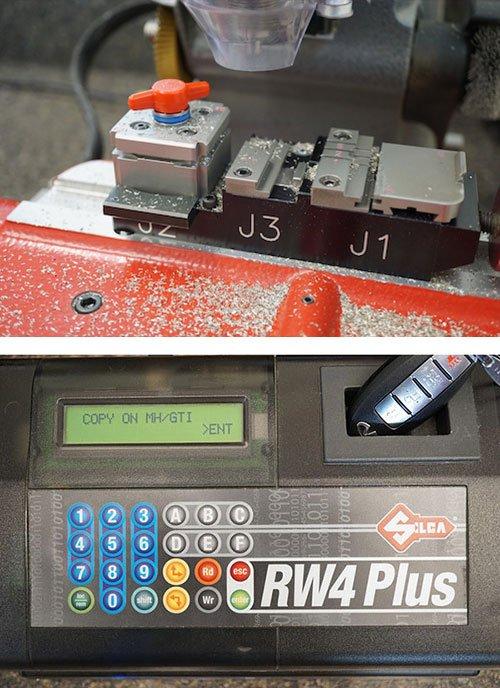 auto locksmith car key cutting and programming